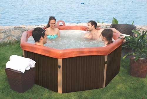 Bubble Spa MSpa Tuscany Whirlpool
