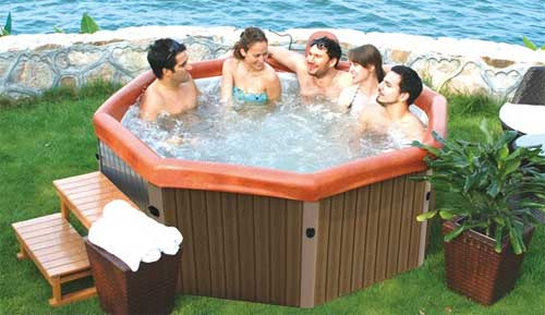 Bubble Spa MSpa Tuscany Grande Whirlpool